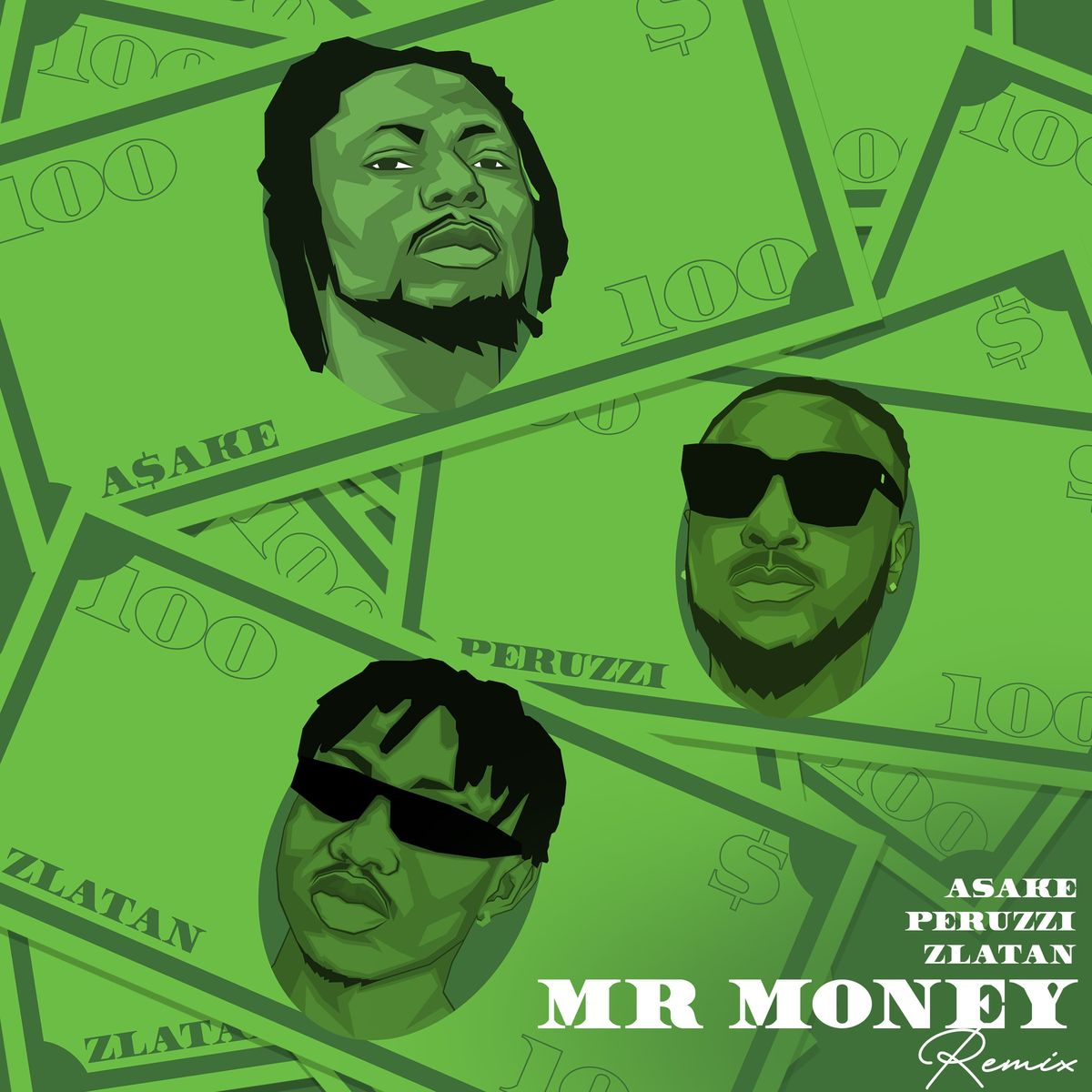 [Music] Asake Ft. Peruzzi & Zlatan – Mr Money (Remix)