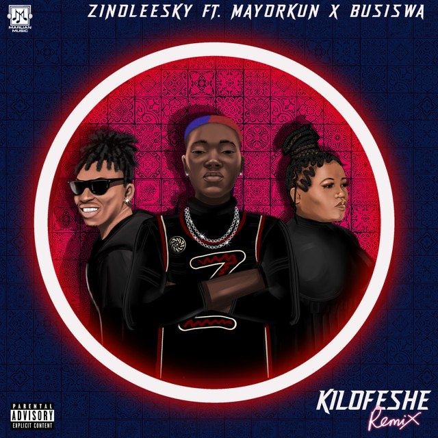 [Music] Zinoleesky Ft. Mayorkun & Busiswa – Kilofeshe (Remix)