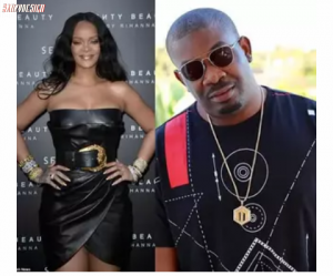 Rihanna Comes out Bluntly! she is not Interested in Don jazzy
